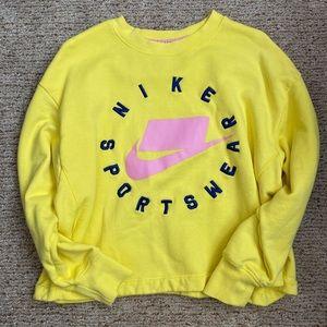 Nike Yellow Sweatshirt